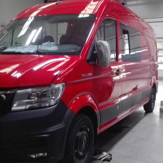 Nové přepravní vozidlo pro JSDH Krasice v přípravě