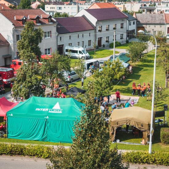 Závody mladých hasičů v Krasicích